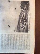 M62-12 Ephemera 1939 Picture Article Ww1 Baron Von Richthofen