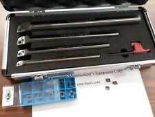 Indexable Boring Bars Set 4pcsset W Extra 13pcs Ccmt Carbide Inserts 1004 Idx