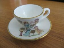 CAVERSWALL  miniature Cup & Saucer  TUESDAY