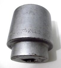 2 916 Hand Socket Williams X 1282 1 Dr 12 Point 1282 Made In Usa