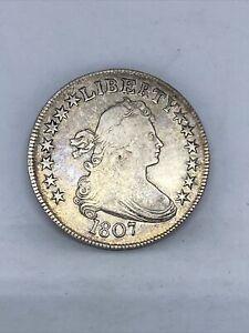 1807 U.S. Draped Bust Half Dollar Silver
