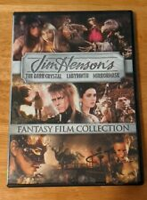 Jim Henson's Fantasy Film Collection (Labyrinth / The Dark Crystal / MirrorMask)