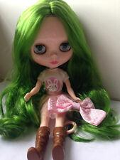 "NEW Takara CWC 12"" Neo Blythe Doll Green Hair Blythe_Moonlight 0612"