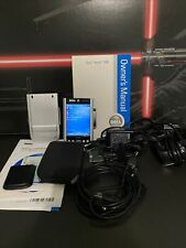 Working Dell Axim X50 X50V Hc03U HandHeld Mobile Pda w/ Charger Case Accessories