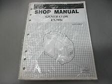 NOS Honda OEM Power Equipment Shop Service Manual Generator EX700C 61ZT300Z