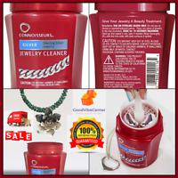 Connoisseurs - Silver Jewelry Cleaner Shine Extra Removes Tarnish Brilliance 8OZ