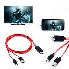 MHL Micro USB HDMI AV TV Cable Adapter For Samsung Galaxy Tab 3 8.0 SM T310 T320