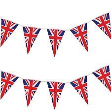 Giant 60FT UNION JACK 40 FLAG BUNTING ROYAL WEDDING PARTY DECORATIONS GB