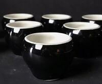 Vintage Set Of 12 Hall Pottery Ramekins Salt Cellars
