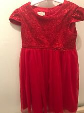 Monsoon Girls 2-3 Years Red Sparkly Sequin Christmas Party Dress Gorgeous Tulle