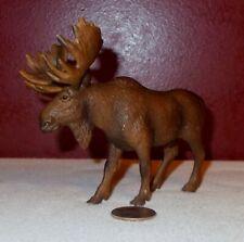 2002 Schleich Germany BULL MOOSE Toy Figurine