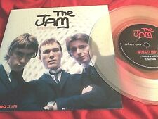 "The Jam ‎– In The City Live E.P RARE CLEAR VINYL 7"" near mint!"