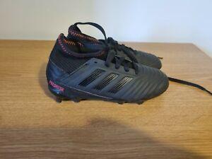Kids Boys Adidas Predator 19.3 Childrens FG Football Boots - Size UK C13