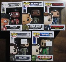 Lot NEW 5 Funko Pops Box Damage Hancock ID4 Strain Talladega Nights Warcraft