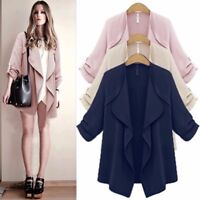 Autumn Womens Ladies Sweater Casual Long Sleeve Cardigan Jacket Coat Top Outwear