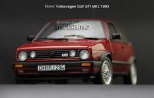 1/18 Norev Volkswagen VW Golf GTI MK2 1990 2 Door Red Full Open Diecast