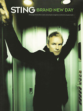 STING BRAND NEW DAY Piano Vocal Guitar Music Book PVG Songbook Shop Soiled