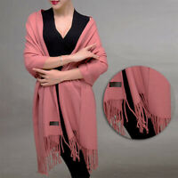 Fashion Women Ladies Long Shawl Wrap Scarf Pashmina Warm Scarves Tassel Stole