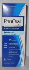 Panoxyl 4  Acne Foaming Face Wash 6oz -Expiration 08-2018-