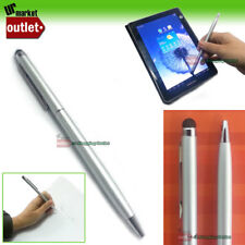 2in1 SILVER Universal Touch Screen Stylus Pen for iPhone iPad Note II S3 Kindle