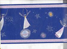 WALLPAPER BORDER ANGEL FAIRY IN THE SKY MOON STARS NEW ARRIVAL KIDS GIRLS