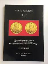 JEAN ELSEN COIN AUCTION CATALOG VENTE PUBLIQUE 117 JUN 2013 ANCIENTWORLD BLGIUM