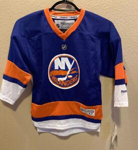 NEW Reebok NHL New York Islanders Stitched Home Hockey Jersey  Size 4-7 NWT $80