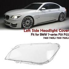 Left Side Headlight Lens Cover For BMW F02 F01 7 740i 740Li 750i 750Li 760i
