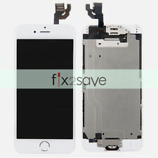 """White iPhone 6 4.7"""" LCD Lens Display Touch Screen Digitizer Assembly Replacement"""