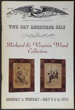 Catalog: Antique American Folk Art & Americana: Richard Wood Collection 1976