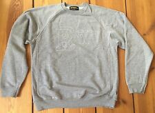 Rockwell by Parra Classic Crewneck Sweatshirt Pullover Original Rare Size L Grey