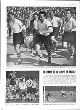 Football finale de la coupe de France Stade de Colombes Racing ILLUSTRATION 1949