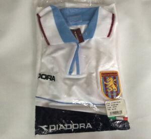 New Adult Reebok Aston Villa Away Short Sleeved Football Shirt Jersey Large Mg
