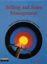 Selling and Sales Management, Lancaster, Geoffrey, Jobber, David