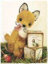 Mohair/Bear/ Fox Pattern,  8 inch Incl. Ears