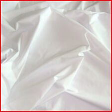"""ULTRA WIDE TIGHT WEAVED POLYCOTTON BLENDED FABRIC HOTEL BEDDING PURE WHITE 100""""W"""