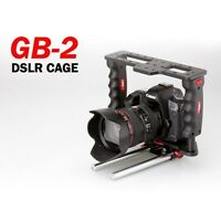 Authentic PNC DSLR Camera GearBox GB-2 Video Accessory Cage with 15mm Rod