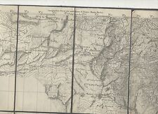 cartina alpina - m. lovanna  - 1:50.000 - in tessuto telato -