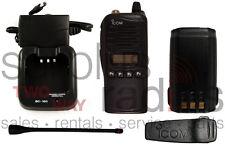 ICOM F4021S POLICE FIRE EMS HAM SECURITY 128CH 4W 400-470MHZ NARROW BAND