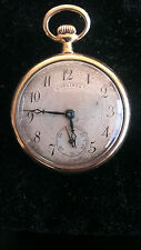 Longines 18K Gold Antique Pocket Watch Pendant  Circa 1908