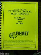 International Ih Dresser Td7e Crawler Tractor Dozer Parts Book Manual Hi Sn 9500