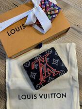 Louis Vuitton ink Monogram Canvas Upside Down Multiple Bifold Wallet Kim Jones