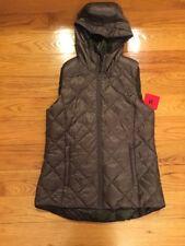 NWT Gerry Ladies Reversible Packable Down Vest Sz M