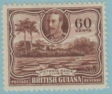BRITISH GUIANA 219 MINT HINGED OG * NO FAULTS EXCELLENT !