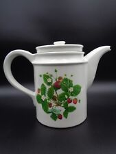 Portmeirion Summer Strawberries ~ COFFEE POT ~ Made in England