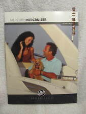 2011 Mercury Marine Booklet Mercury MerCruiser Illustrated, Celebrating 50 Years