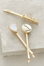 Nwt Anthropologie Zodiac Signs Bobby Set - Pisces  Hair Pins