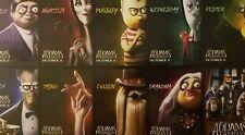 Adams Family Movie POMO 10 Character Trading Cards  Ships  FREE
