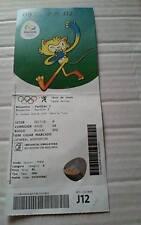 TICKET 9.8.2016 Olympia Rio Olympic Tischtennis Table Tennis # J12