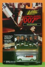 JOHNNY LIGHTNING 98 JAMES BOND 007 - FORD MUSTANG - GOLDFINGER + FLYING - MOC